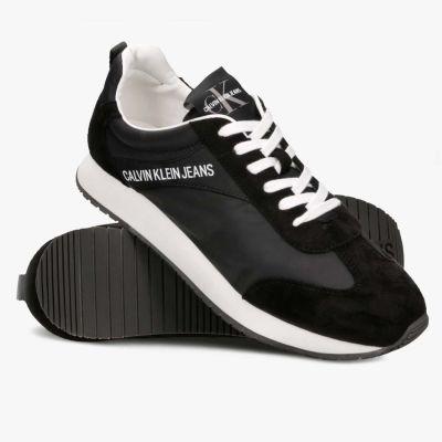 Кроссовки Calvin Klein Jerrold Nylon/Suede Black