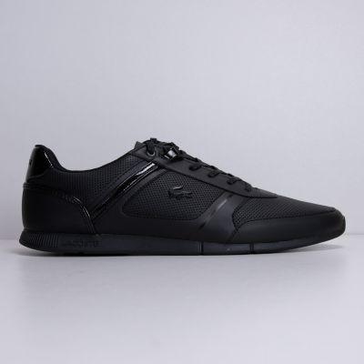Кеды Lacoste Menerva 120 2 CMA Leather/Synhetic BLK/BLK