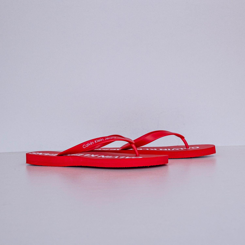 Мужские Вьетнамки Calvin Klein Errol Jelly Tomato