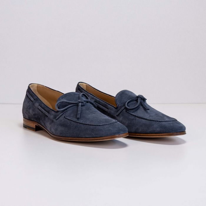 Лоферы Tod's Mocassino Laccetto Cuoio 86A BYE Notte