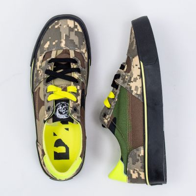 Кеды Diesel S-Flip Low Military Green