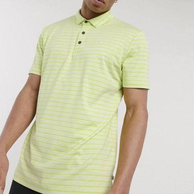 Поло Calvin Klein Golf Splice polo shirt green