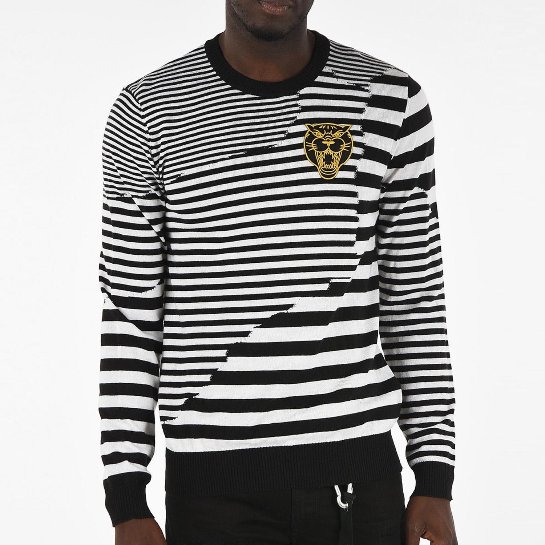 Мужская Пуловер Diesel K-Stakx pullover black