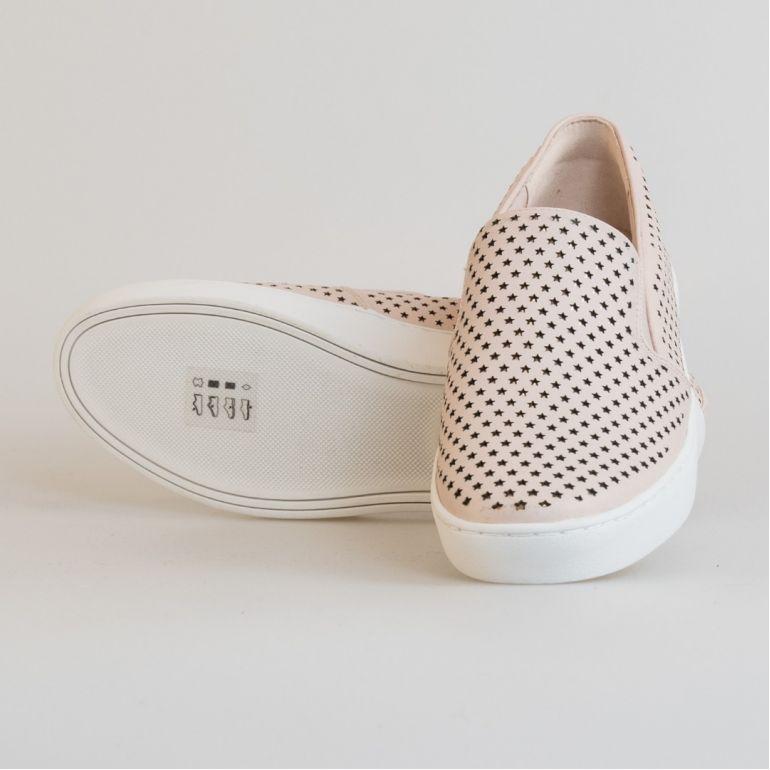 Женские Слипоны Michael Kors 43R8KTFP2L Soft Pink.