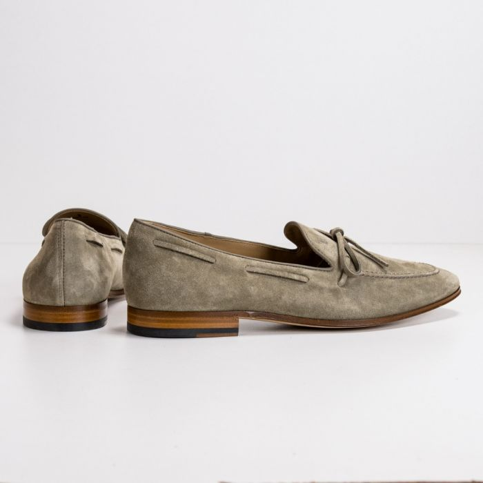 Лоферы Tod's Mocassino Laccetto Cuoio 86A RE0 Torba