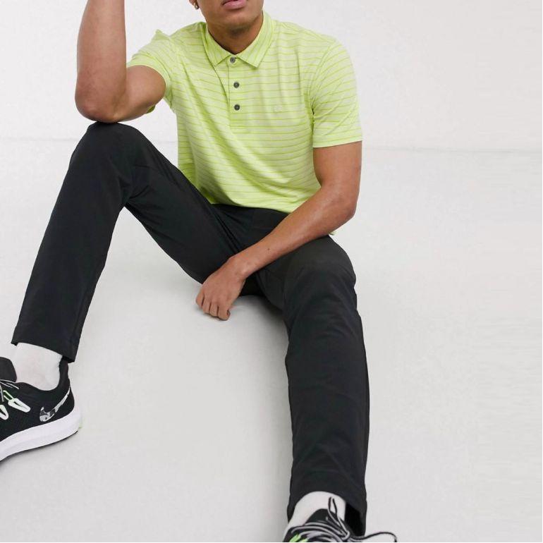 Поло Calvin Klein Golf Splice polo shirt green.