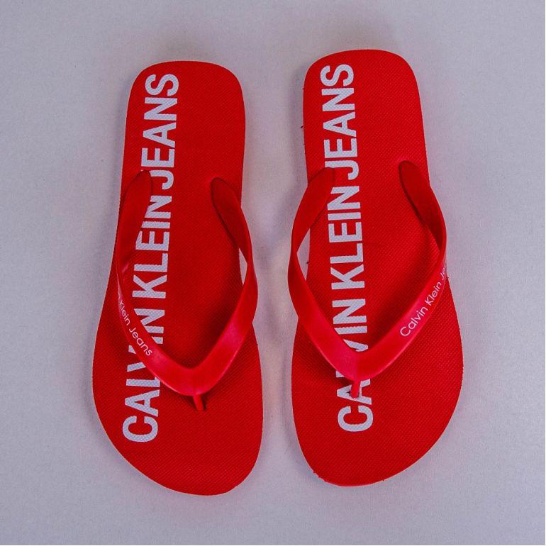 Мужские Вьетнамки Calvin Klein Errol Jelly Tomato.