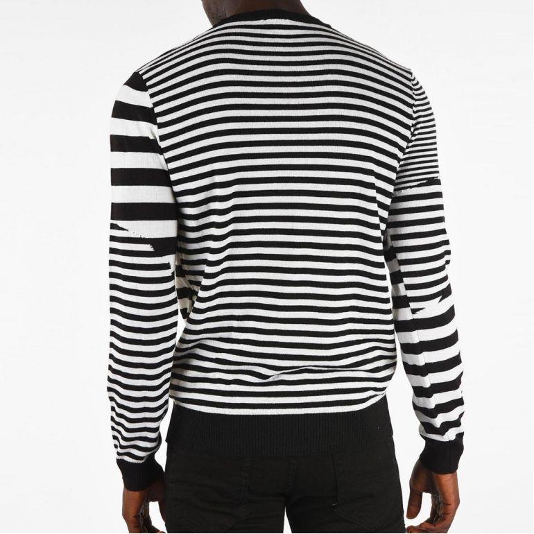 Мужская Пуловер Diesel K-Stakx pullover black.